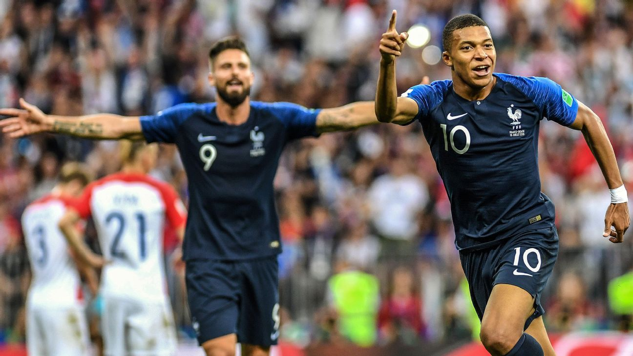 Mbappe's goal in the World Cup final, his fourth of the tournament, just proves how he's the sport's next big star.