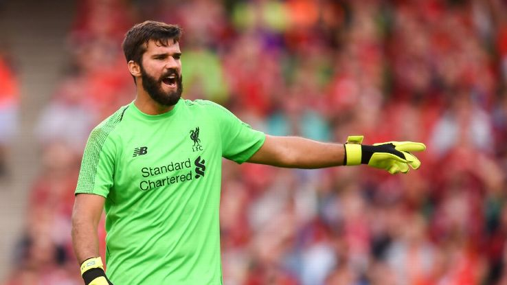 Liverpool have upgraded one of their biggest weak spots by signing goalkeeper Alisson from Roma.