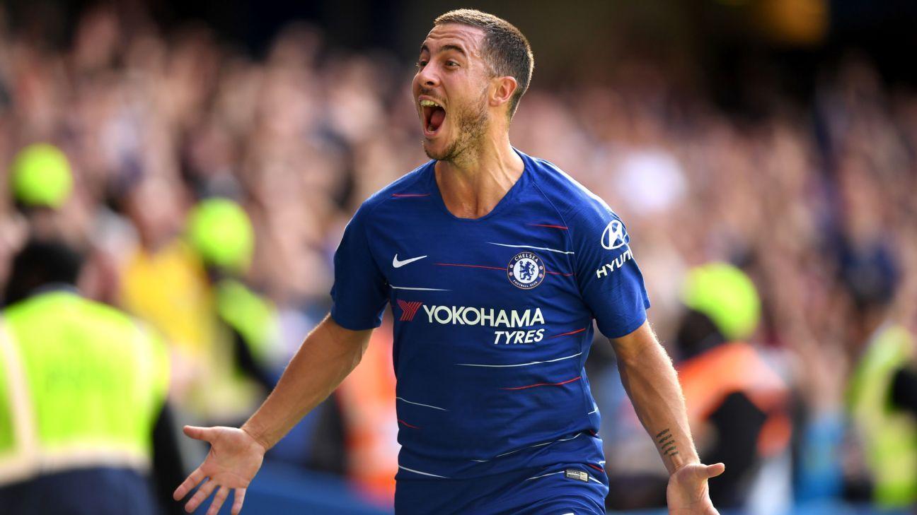 Chelsea's Eden Hazard 'can score 40 goals' this season ...