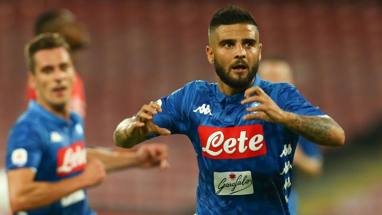 Lorenzo Insigne goal helps Napoli exact revenge on Fiorentina