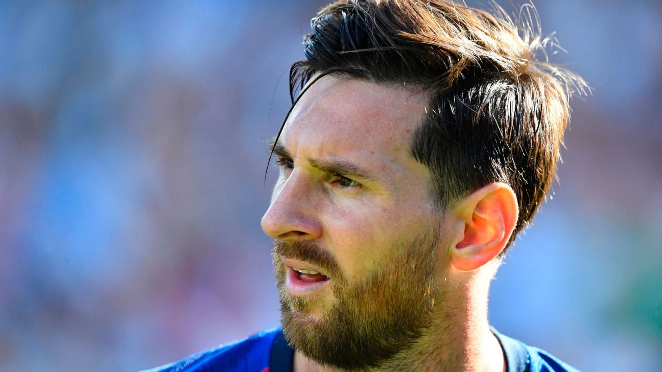Barcelona's Lionel Messi: I need to improve from the ...