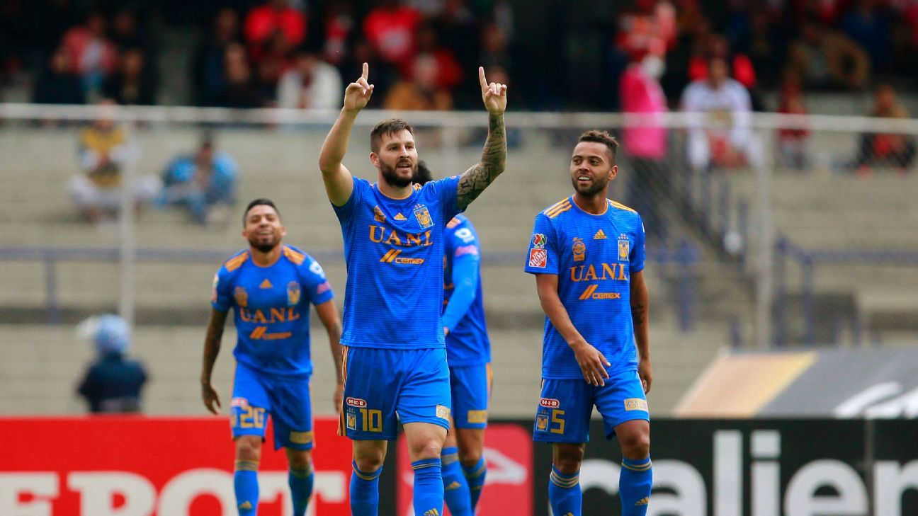 Star striker Andre-Pierre Gignac has recently gotten going but something still seems off about Tigres.
