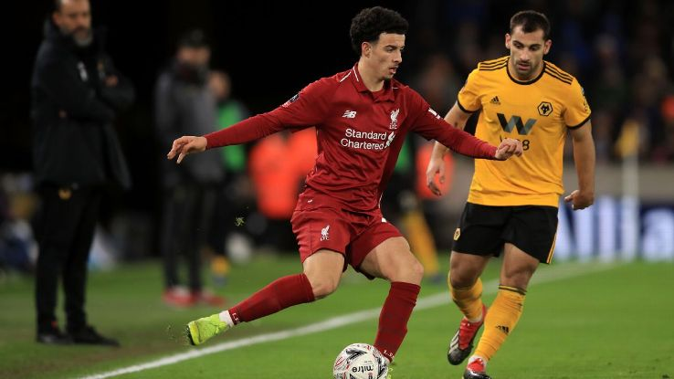 Jones, left, is the latest local lad to make it into the Liverpool first team and has a lot of confidence for such a young player.