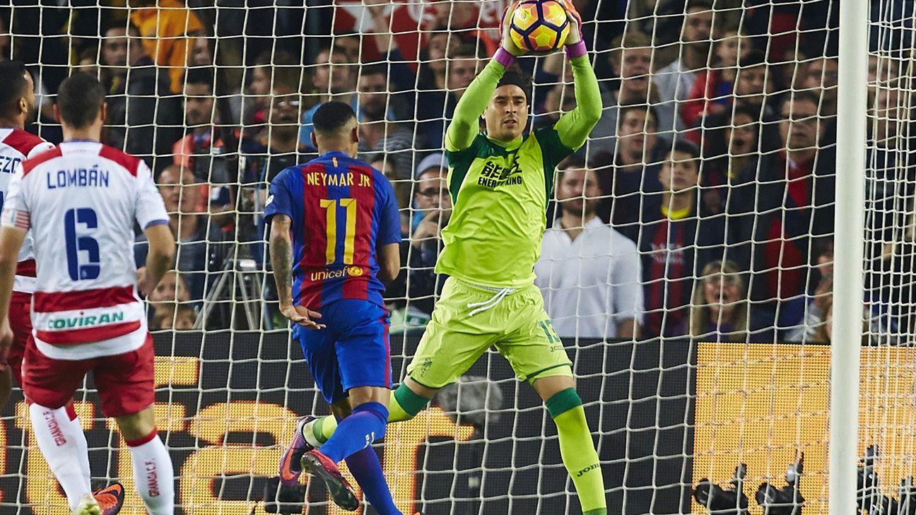 7174f1df7426f El Barcelona apenas  explotó  un gol ante el Granada