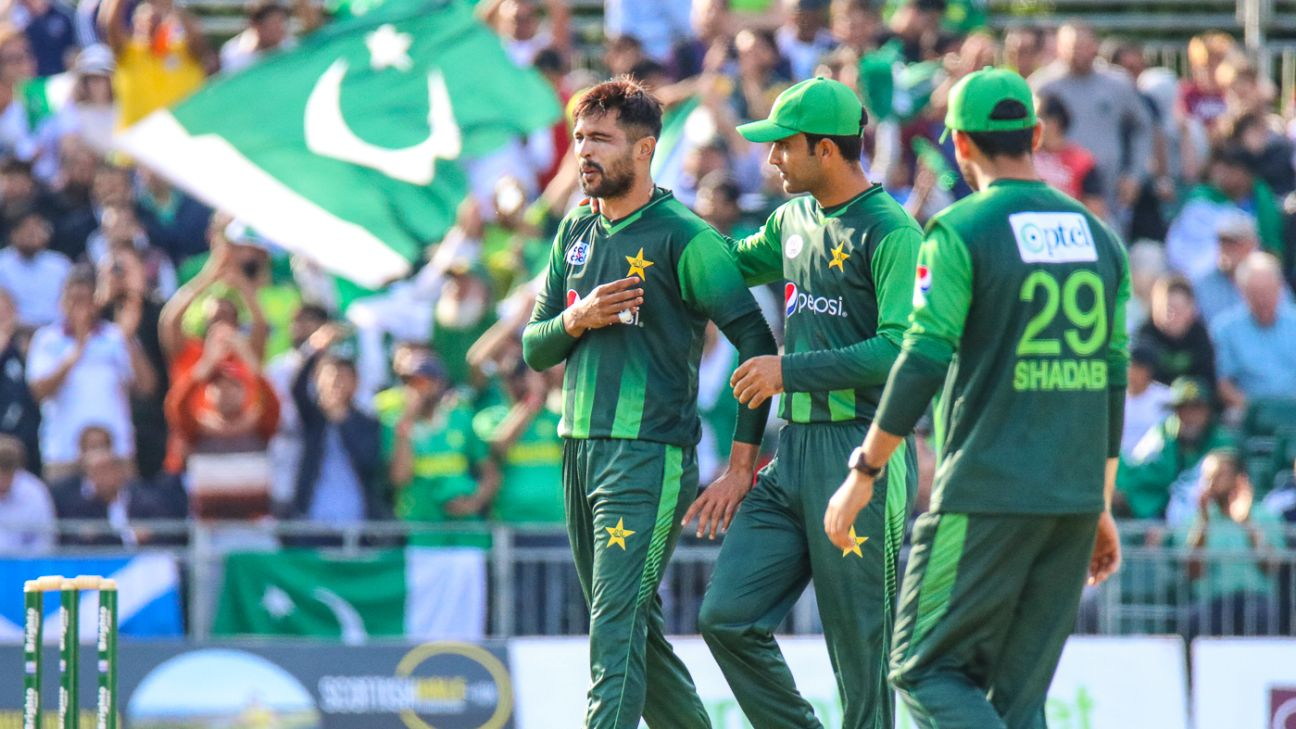 Mohammad Amir left out of Pakistan's World Cup squad