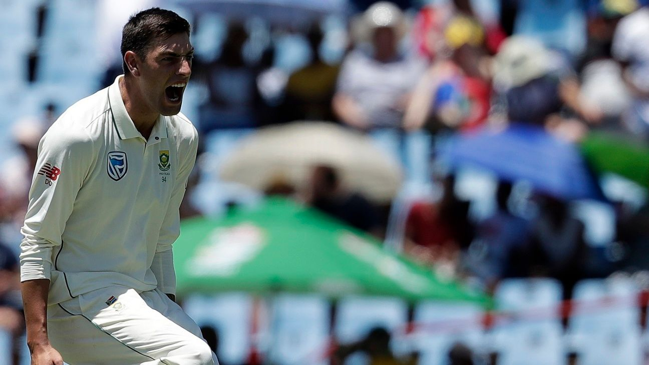 Olivier, South Africa's 'other bowler' who stole the show