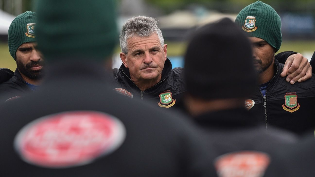 Bangladesh part ways with coach Steve Rhodes