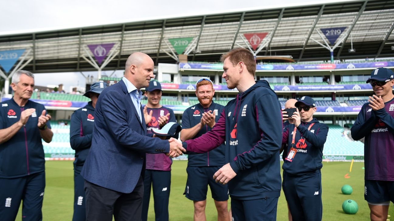 Eoin Morgan has earned the right to decide his own future – Andrew Strauss