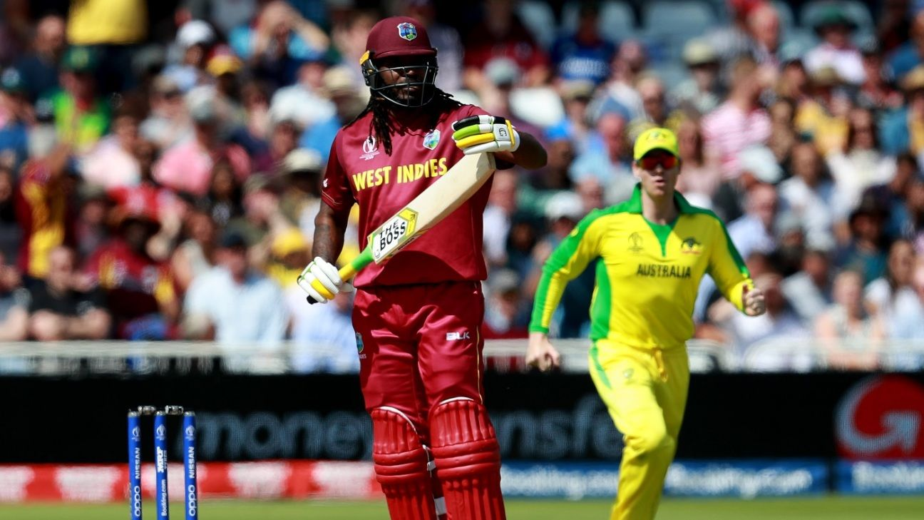 Missed no-ball costs Gayle his wicket
