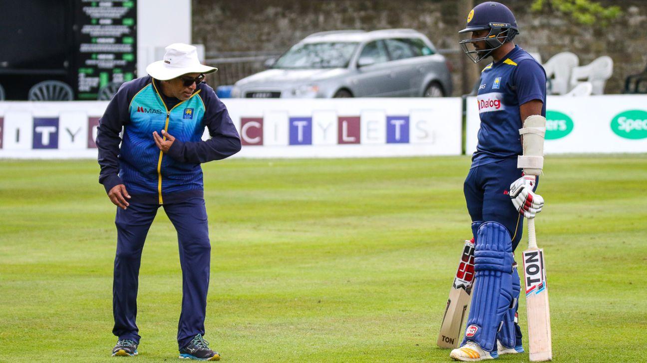 Hathurusingha expects Sri Lanka's batsmen to step up
