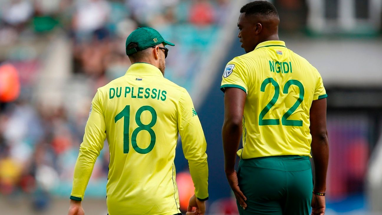 Lungi Ngidi's return to fitness a timely boost for South Africa
