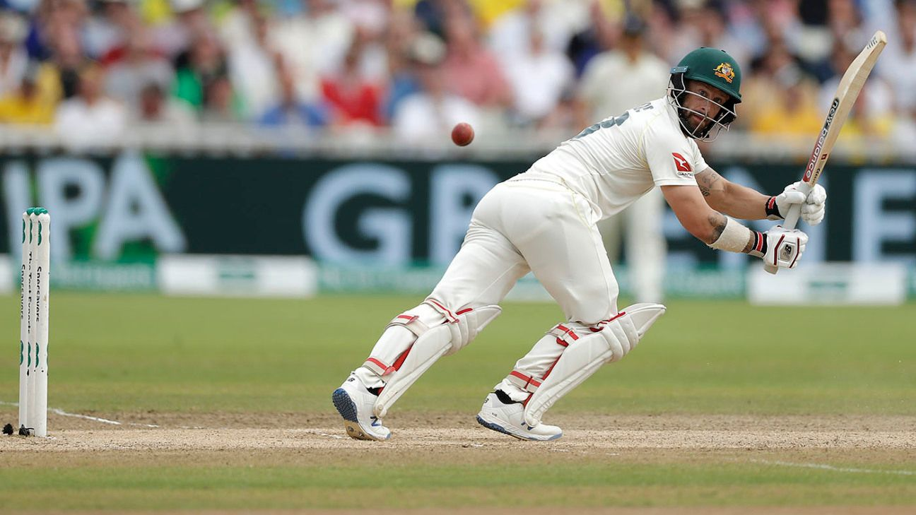 Matthew Wade shines in Ashes on his own terms