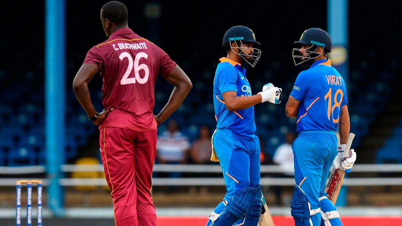 Iyer was brave under pressure - Kohli