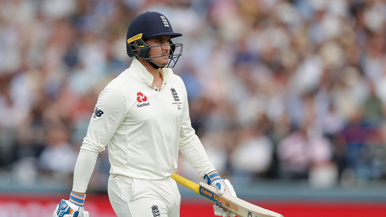 Jason Roy suited to middle order, says Bayliss - but change unlikely