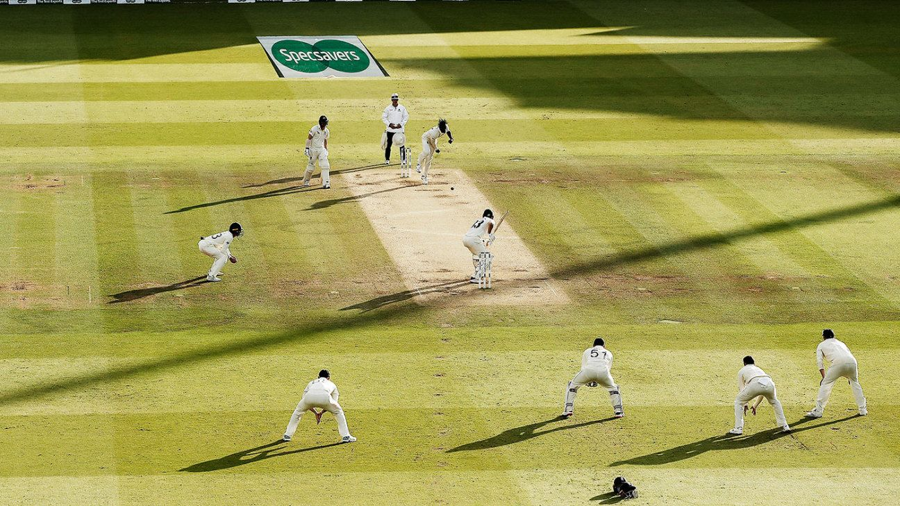 The beauty of the Test match game now? Everybody goes at it like mad dogs
