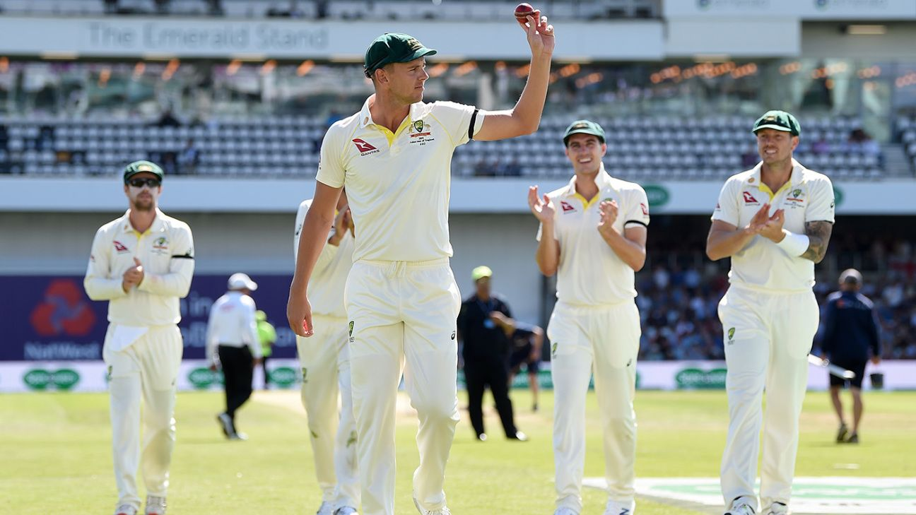Josh Hazlewood leads way as Australia squeeze free-scoring England