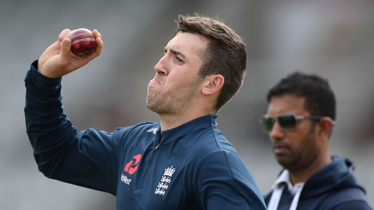England turn to Craig Overton in hope of consistency rather than flamboyance