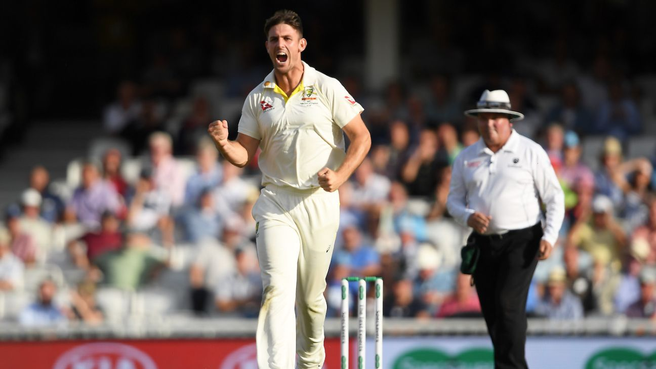 Justin Langer told me I'm an idiot - Mitchell Marsh
