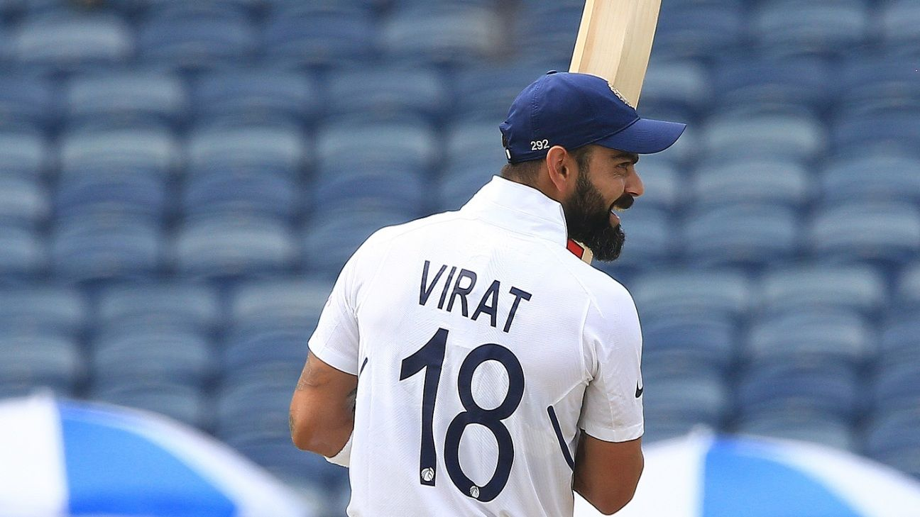 Virat Kohli moves to within a point of No. 1-ranked Steven Smith