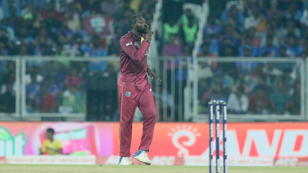 Is the IPL ready for Kesrick Williams' notebook and Sheldon Cottrell's salute?