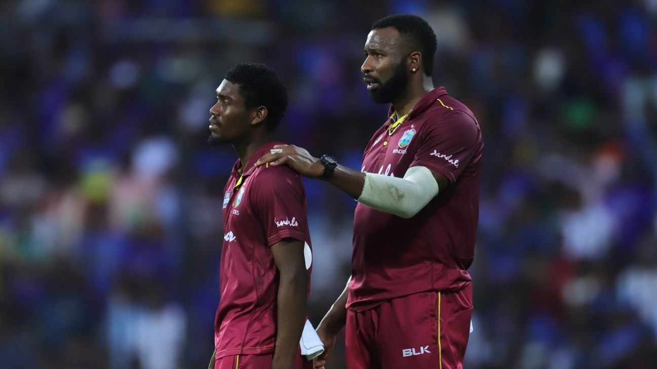 This is Kieron Pollard's West Indies, and they mean business