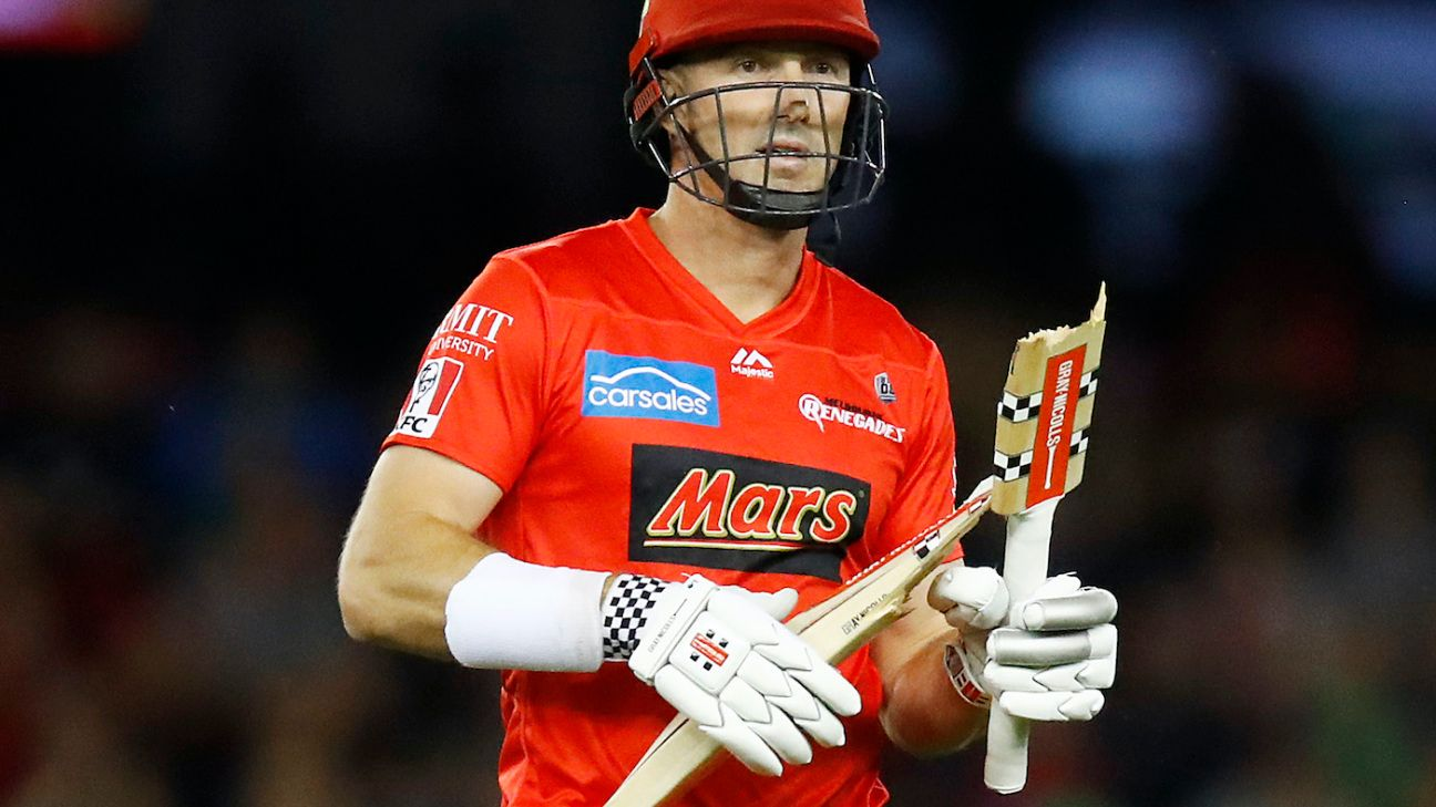 Back to the drawing board for Melbourne Renegades