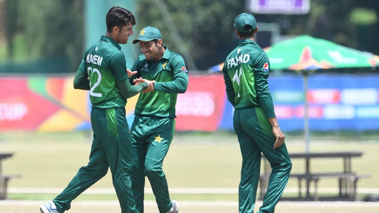 Pace trio sets up Pakistan's seven-wicket rout of Scotland