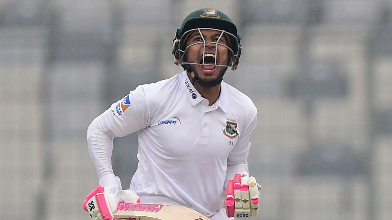 'I could've reached a triple-hundred tomorrow' - Mushfiqur Rahim