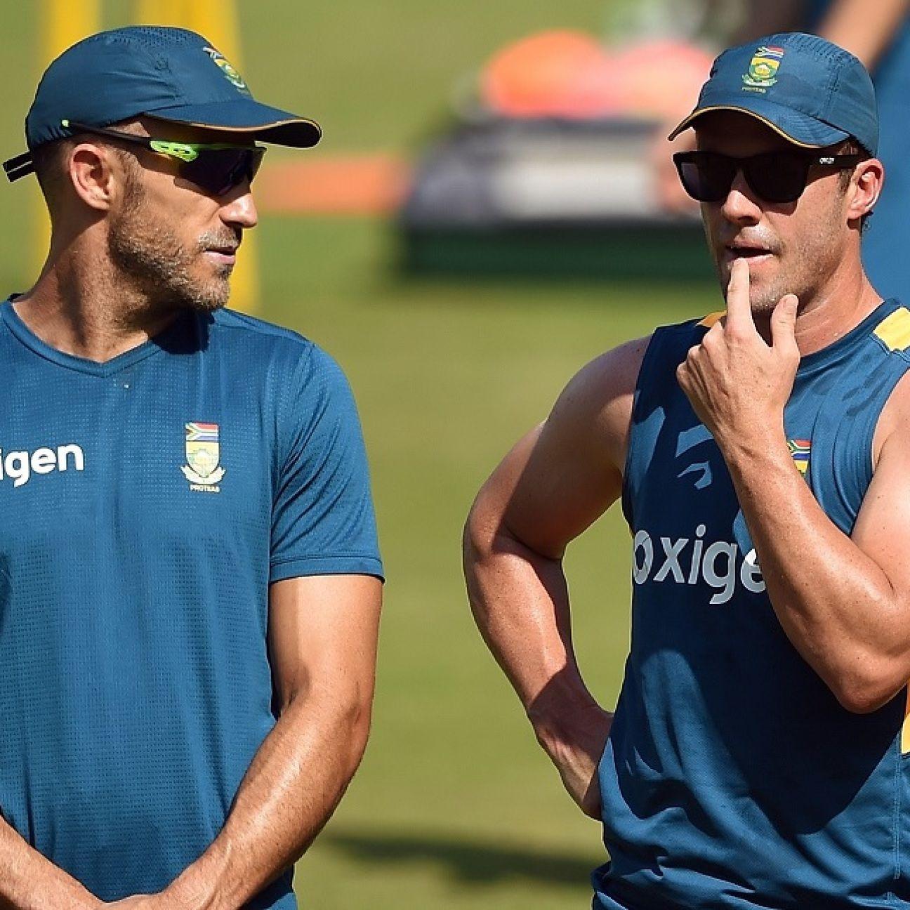 AB de Villiers reveals he helped steer Faf du Plessis away from Kolpak route