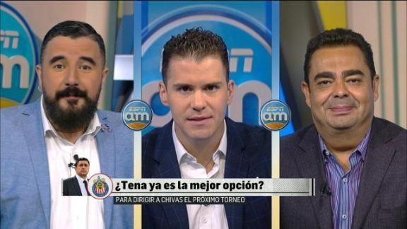 """""""Jugadores de Chivas están demostrando que quieren que se quede Tena"""" - ESPN"""