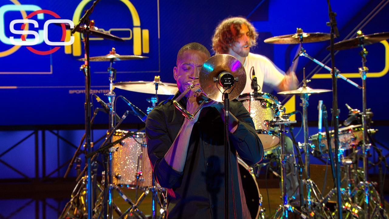 Trombone Shorty performs 'Hurricane Season' for #SCSVP - ESPN Video