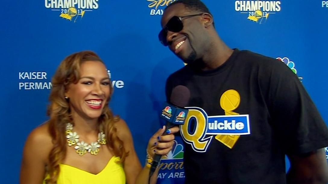 quality design 5f922 7f1ed Draymond needles Cavs with 'Quickie' t-shirt - ESPN Video