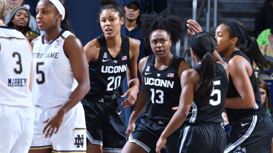 UConn's Williams goes off on the Irish for 28 points