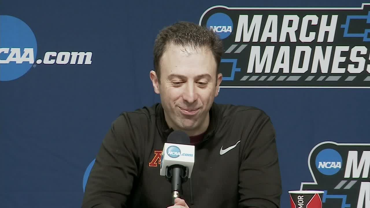 Gophers' Pitino: Facing L'ville not a distraction