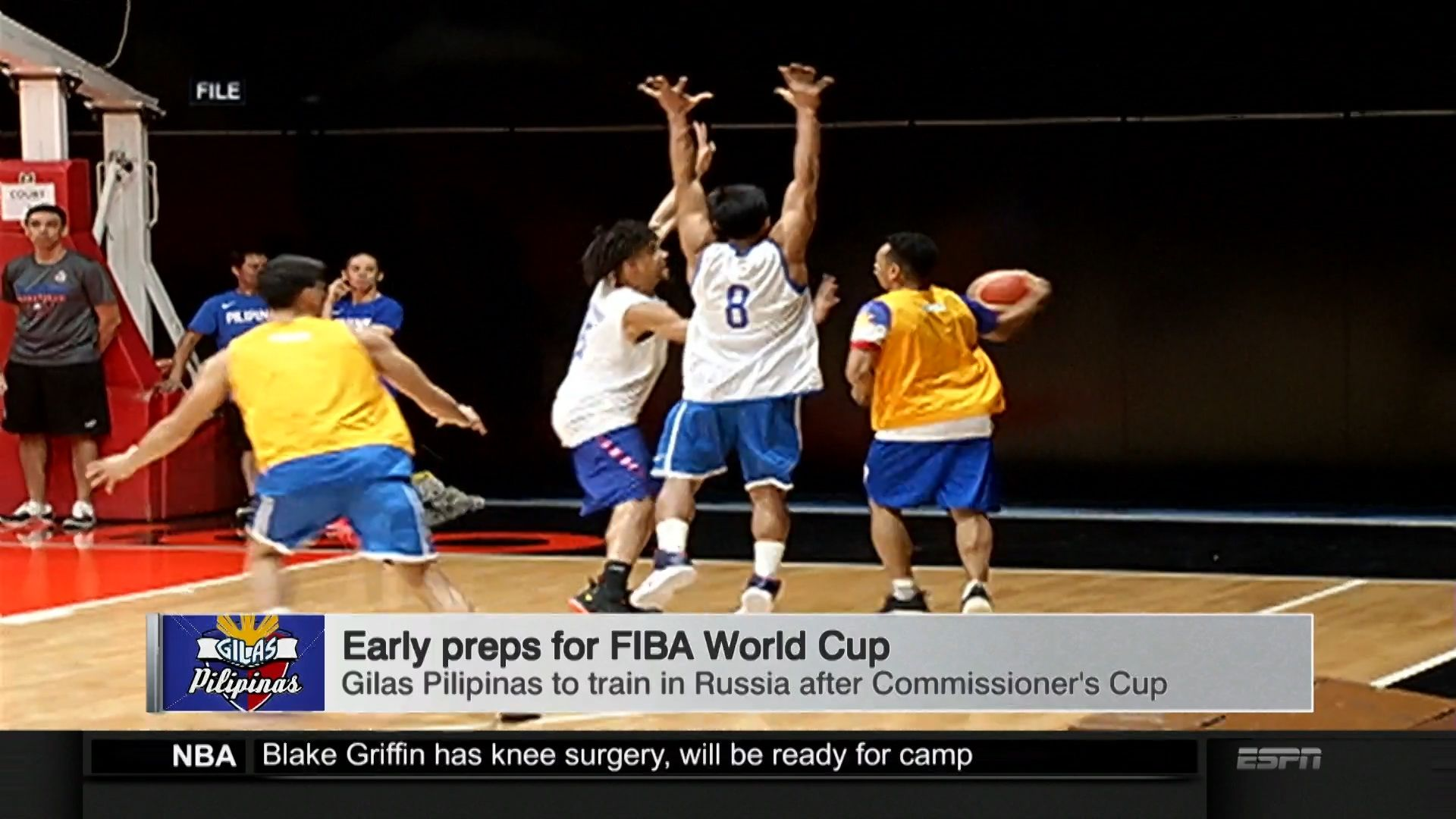 Gilas gets green light for Russia training, June practices