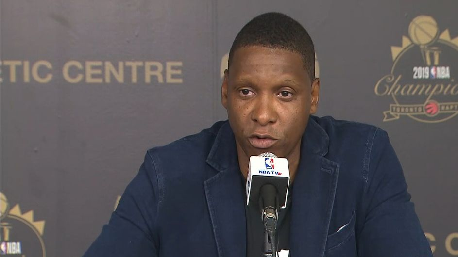 Raptors president Ujiri plans to stay in Toronto