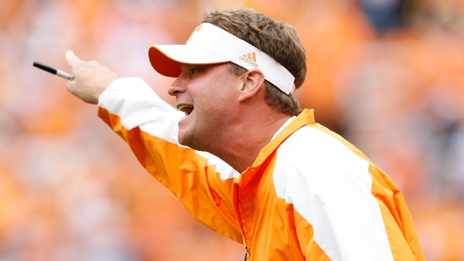 Trash talk, mattress fires and a flying projector: Lane Kiffin's year at Tennessee