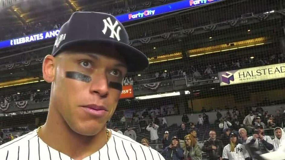 DJ LeMahieu's bat, Aaron Judge's glove help Yankees blitz Twins