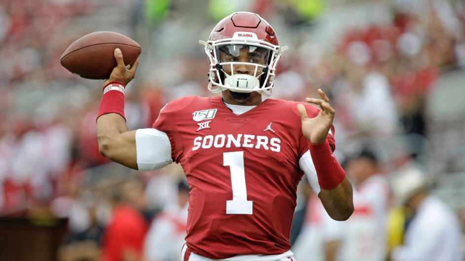 Oklahoma cruises off Jalen Hurts' five touchdowns in win over West Virginia