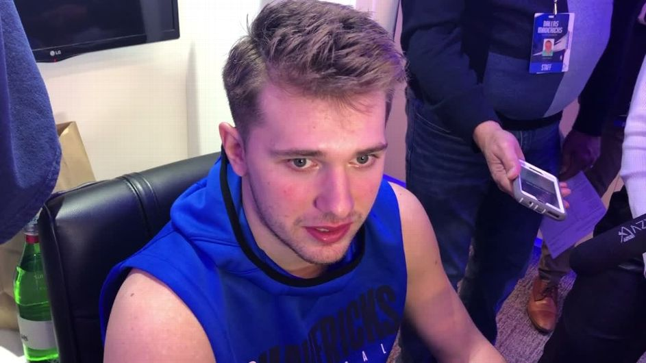 Mavs' Luka Doncic: I need to tone it down with officials