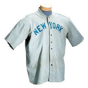 the latest 8ae2f fe895 Babe Ruth jersey sells for record $4.4 million