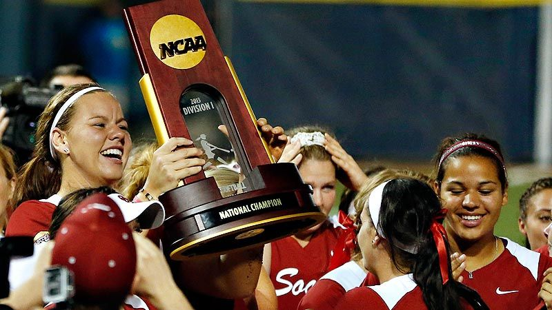 aa4b6dcb182 2013 Women's College World Series -- Oklahoma Sooners dominate Tennessee  Lady Vols to win NCAA championship