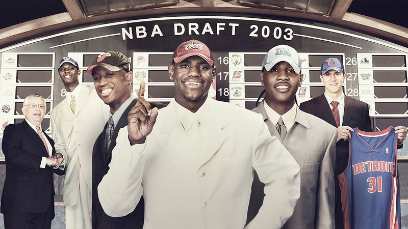 How much do you know about the NBA's 2003 draft class?