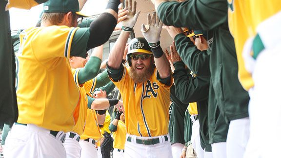 a6383342f Oakland Athletics success due to player chemistry not metrics -- ESPN The  Magazine