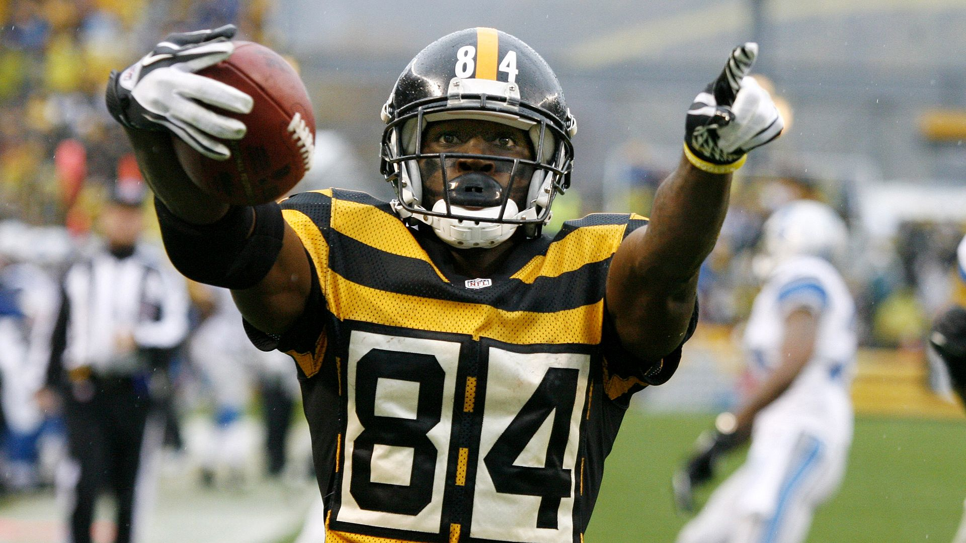 finest selection 27286 4f7ac antonio brown bumblebee jersey