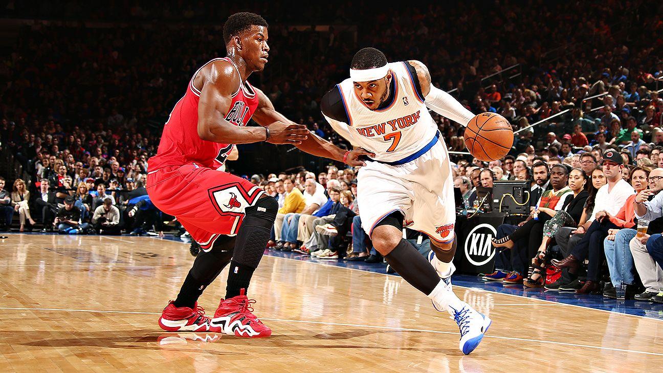 NBA  When Carmelo Anthony almost left New York Knicks for Chicago Bulls f5eadb1bda