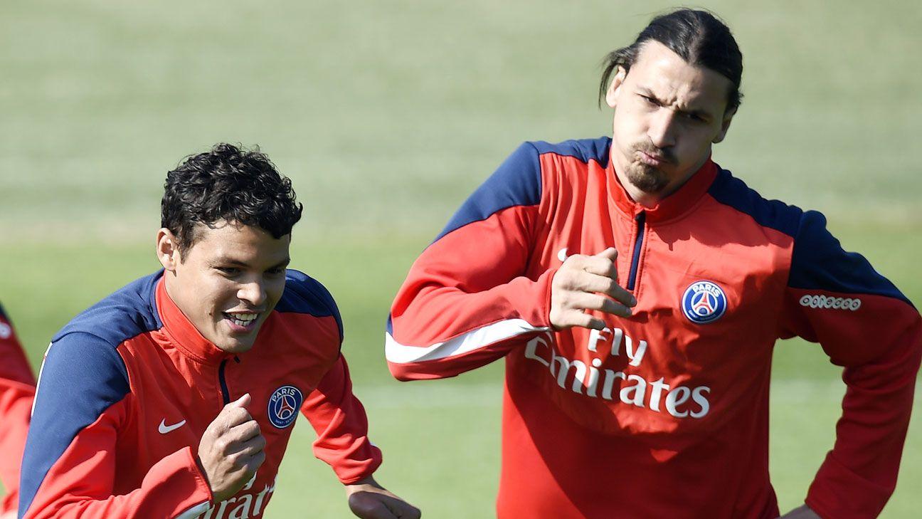 Thiago Silva has no problems with Zlatan Ibrahimovic