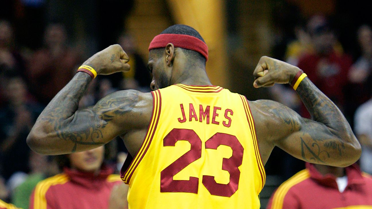 38ae0a50 LeBron James to go back to No. 23 for Cleveland Cavaliers return