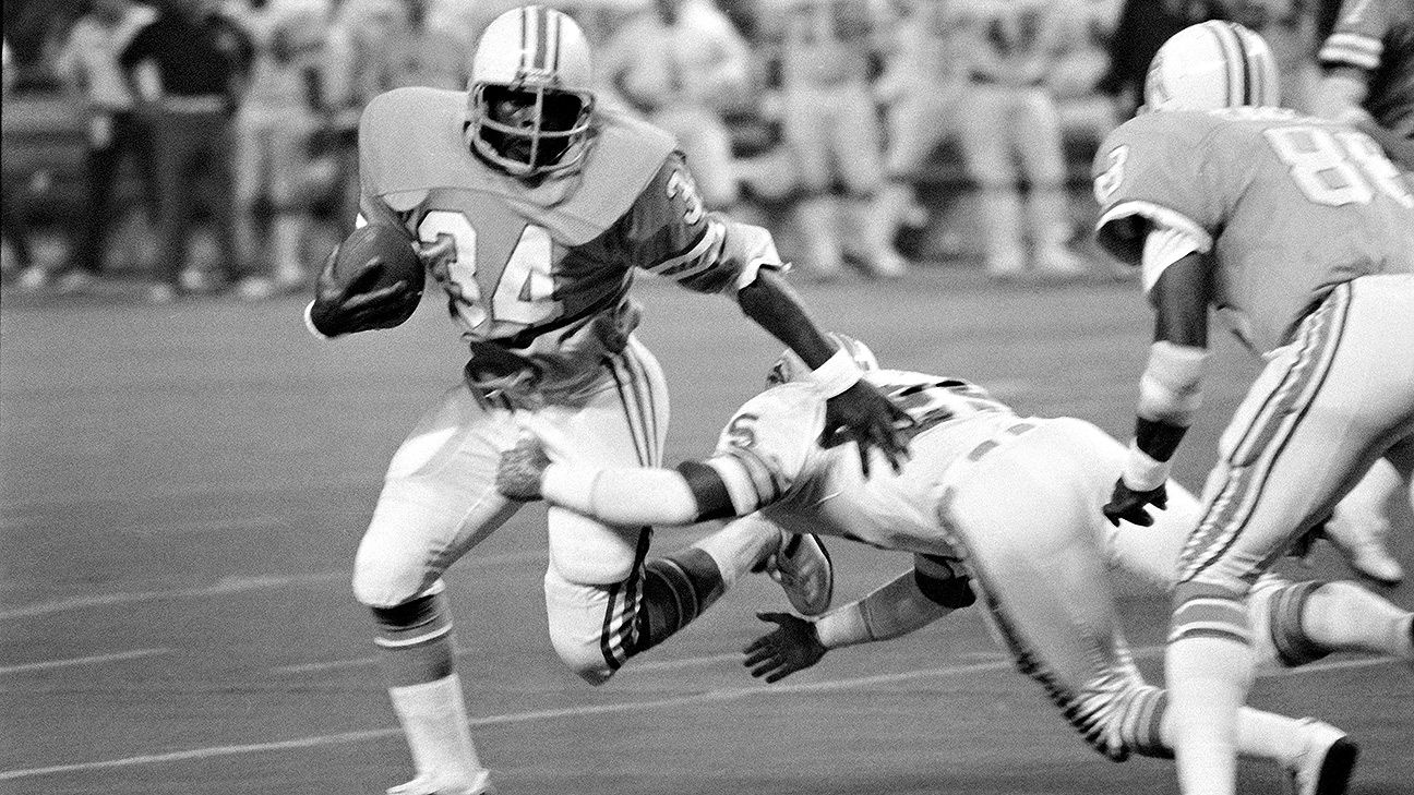MNF moments, No. 26: Houston Oilers' Earl Campbell answers ...Raiders Vs Falcons