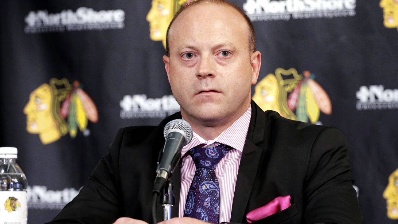 Chicago Blackhawks report out; president Stan Bowman resigns